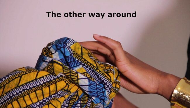 the other way around by Anne Verhoijsen
