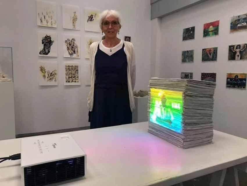 Anne Verhoijsen exposeert in Nieuw Dakota