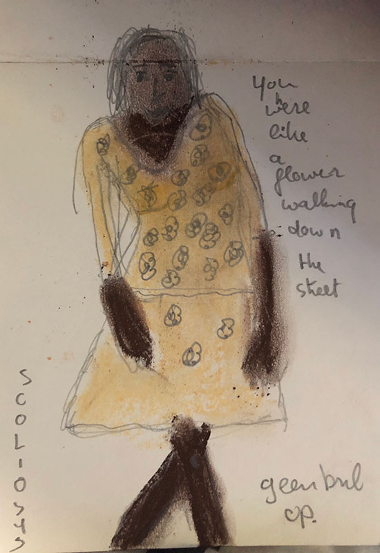 Drawing by Anne Verhoijsen