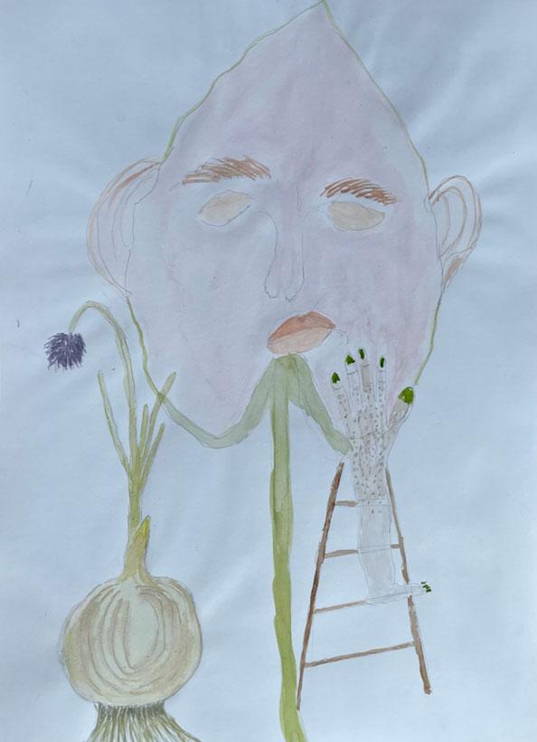 Drawing Anne Verhoijsen