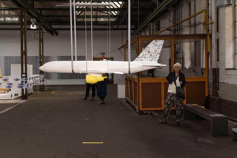 ekwc plane on Big Art